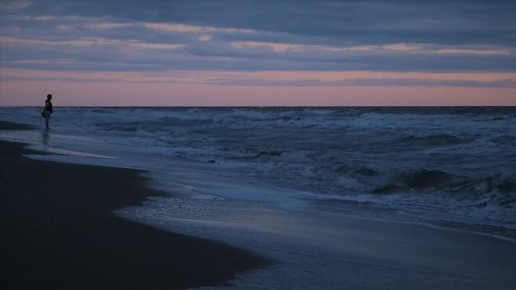 Woman on Beach 02