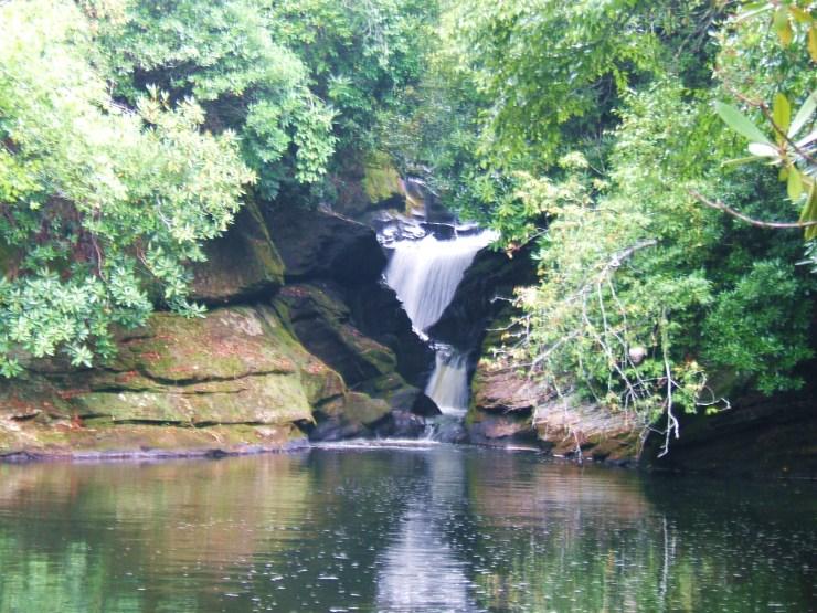 Narrows Falls, Sapphire Valley, NC